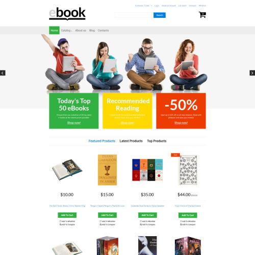 Ebook - VirtueMart Template based on Bootstrap