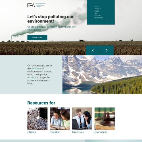 EPA - Joomla! Template based on Bootstrap