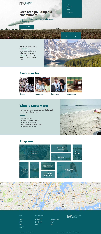 """EPA Responsive"" thème Joomla adaptatif #61134"