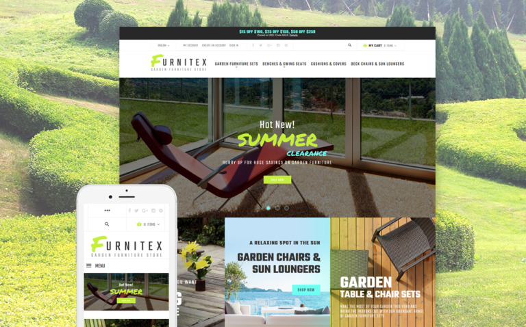 Furnitex - Furniture Responsive Magento Theme New Screenshots BIG