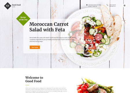 Food and Beverages Site