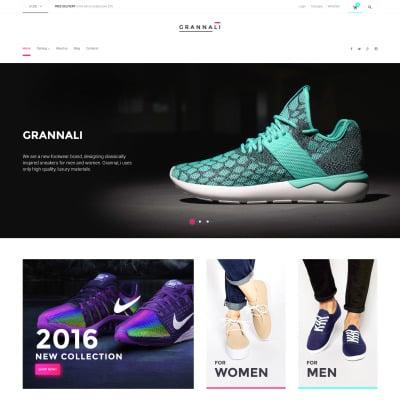 Shoe Store VirtueMart Şablonu