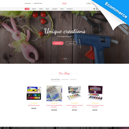 Intense - Joomla! Template based on Bootstrap
