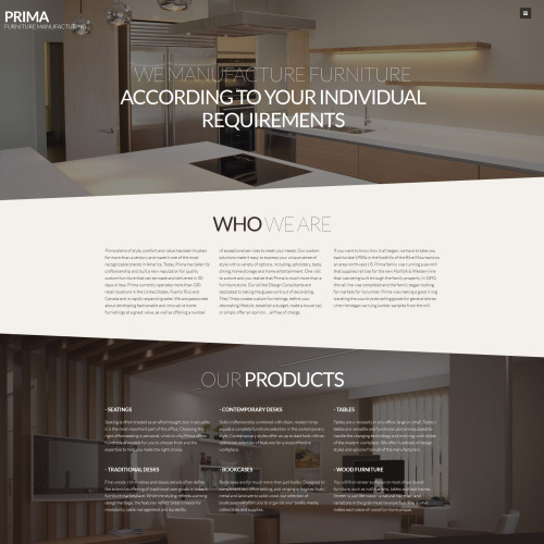 Prima - Joomla! Template based on Bootstrap