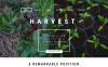"Joomla Vorlage namens ""Harvest - Agriculture company"" New Screenshots BIG"