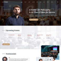 Life coach website templates jordan turner life coach bootstrap website template pronofoot35fo Gallery