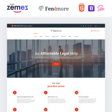 Law Firm Templates TemplateMonster - Law firm templates