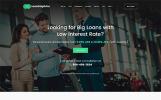 """Loan Dolphins - Loan Company One Page"" - адаптивний WordPress шаблон"