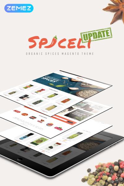 "Magento Theme namens ""Spiceli"" #61194"