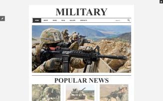 Military Responsive Joomla Template