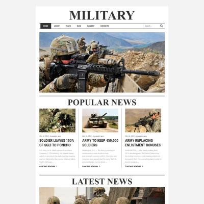 military templates