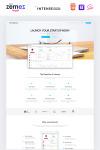 Modèle de page de destination pour développeur web
