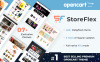 "OpenCart шаблон ""Storeflex"" Большой скриншот"