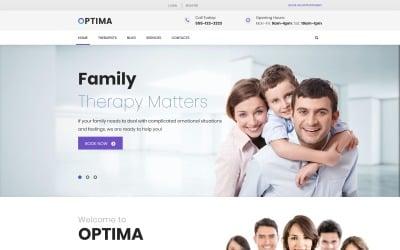 Optima - Family Therapy WordPress Theme