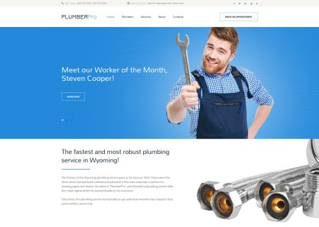 Plumbing Bootstrap