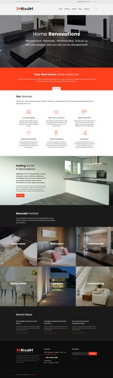 home remodel template