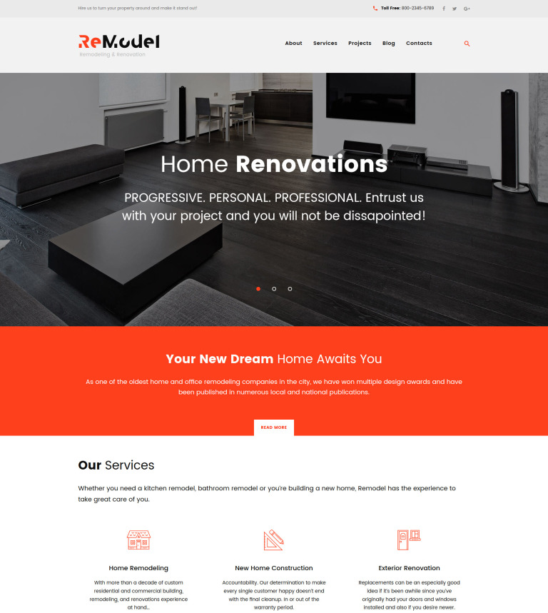 Remodeling WordPress Theme Amazing Home Interior Design Blogs Remodelling