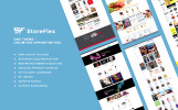 Responsive StoreFlex Opencart Şablon