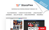 Responsywny szablon OpenCart StoreFlex - Uniwersalny #61111