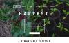 "Responzivní Joomla šablona ""Harvest - Agriculture company"" New Screenshots BIG"