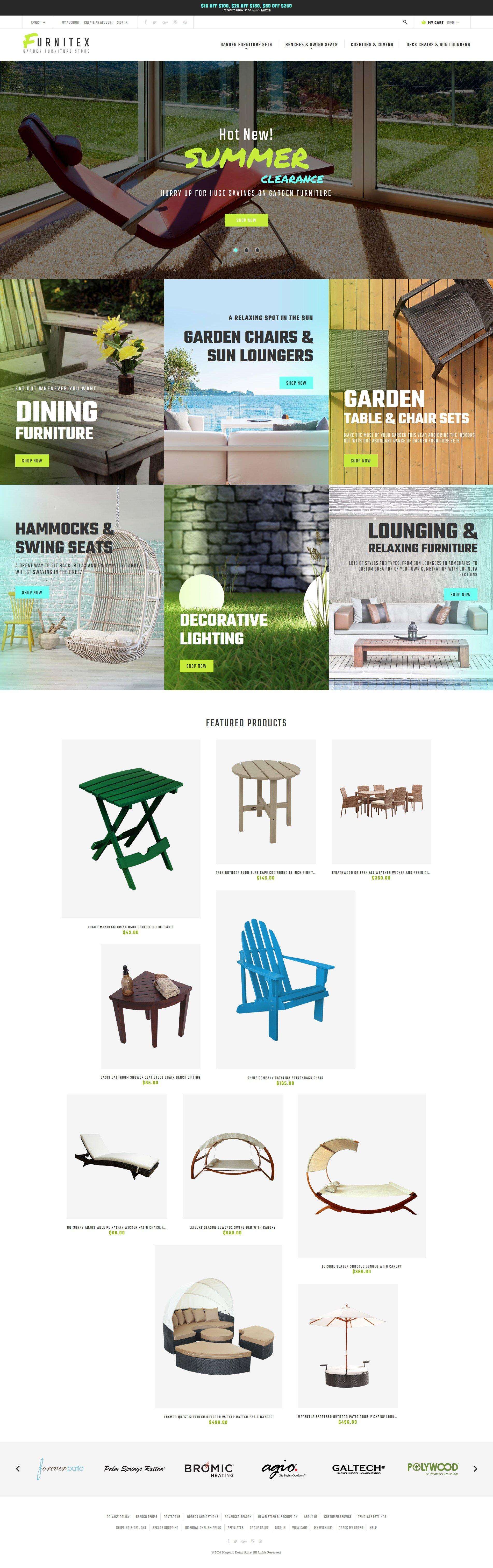Reszponzív Furnitex - Furniture Responsive Magento sablon 61190
