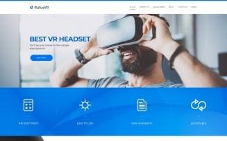 RufusVR - VR Startup Responsive WordPress Theme