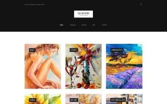 Salvatoro WordPress Theme