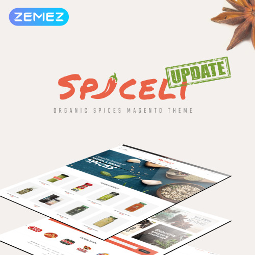 Spiceli - Magento Template based on Bootstrap