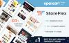 StoreFlex - Responsive Multifunktionale OpenCart Vorlage + RTL Großer Screenshot