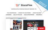StoreFlex - reszponzív többfunkciós OpenCart sablon + RTL