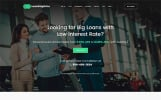 Tema de WordPress para Sitio de Bancos