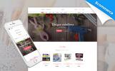 Thème Joomla adaptatif  pour magasin artisanal