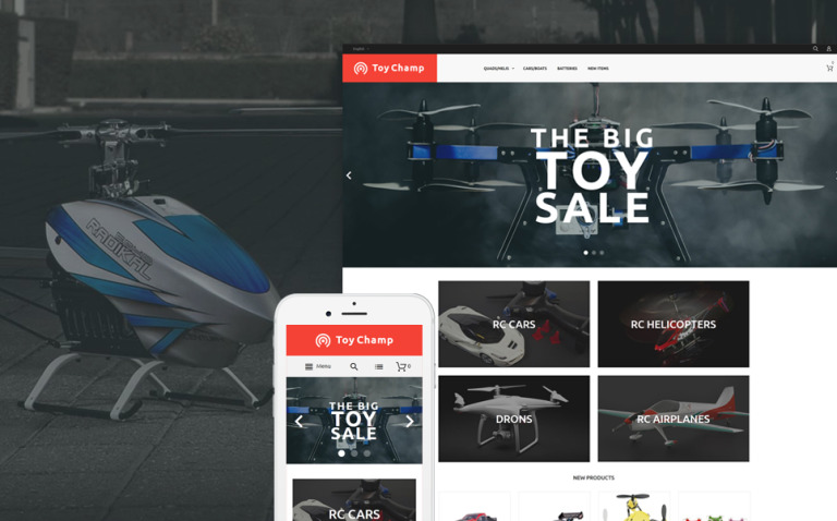 Toy Champ Responsive Magento Theme New Screenshots BIG