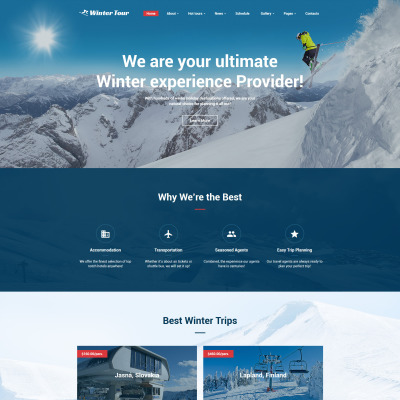40+ Best Travel Agency Website Templates 34481b54c33