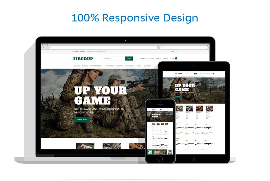 WooCommerce Themes Militaire #61201