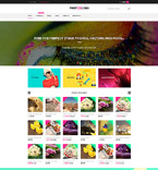 Art & Photography Shopify Template 61209