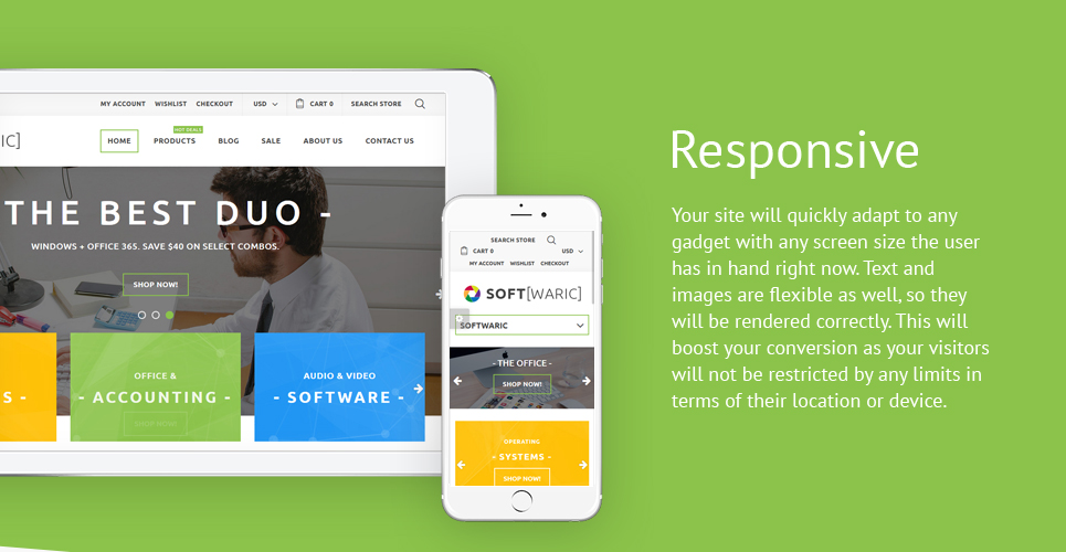 Software Store Responsive Shopify Theme