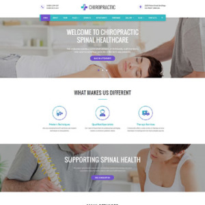 Screenshot of Chiropractic Spinal Healthcare