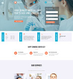 Medical Website  Template 61219