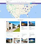 Real Estate WordPress Template 61222