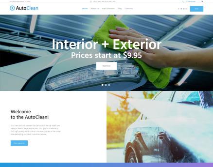 AutoClean - Car Wash & Car Repair WordPress Theme
