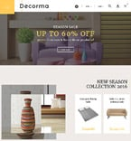 Furniture PrestaShop Template 61231