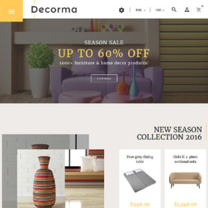 Screenshot of Decorma Furniture Profile