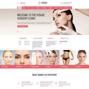 Screenshot of Visage Plastic