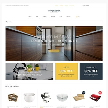 Preview image of Hypernova - Multipurpose Store Responsive