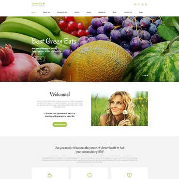 Preview image of Medical HTML Template No. 61252