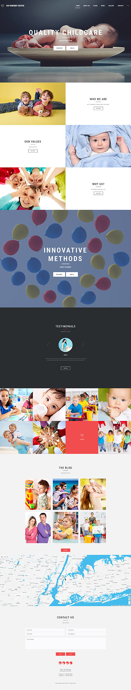 Joomla Theme/Template 61254 Main Page Screenshot
