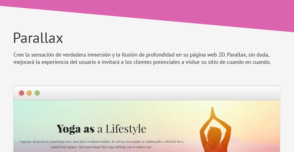 Plantilla Joomla ideal Yoga, Pilates, Taichí, terapias o deportes ...