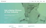 Responsivt WordPress-tema för maknadsföringsbyrå