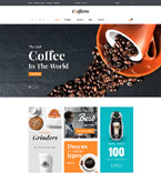 Cafe & Restaurant VirtueMart  Template 61274